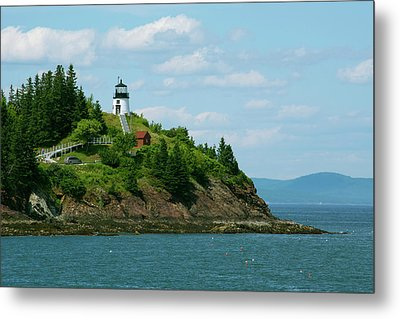 Maine, Rockland, Penobscot Bay Metal Print by Cindy Miller Hopkins