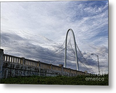 Margaret Hunt Hill Bridge Metal Print by Elena Nosyreva
