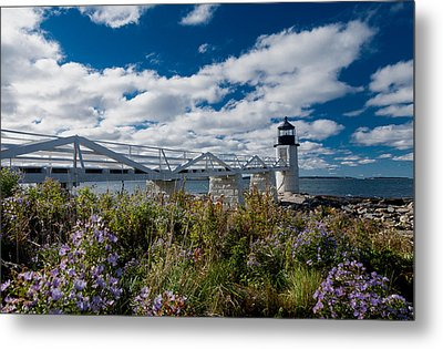 Marshall Point Lighthouse Metal Print by David Smith