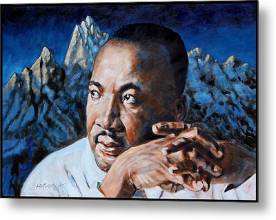 Martin Luther King Metal Print by John Lautermilch