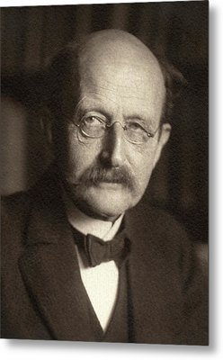 Max Planck Metal Print by American Philosophical Society