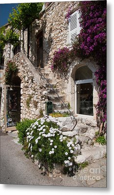Medieval Saint Paul De Vence 3 Metal Print by David Smith