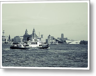 Mersey Ferry Metal Print by Spikey Mouse Photography