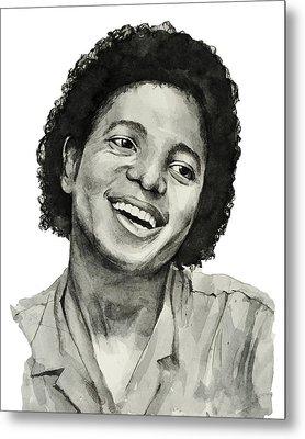 Michael Jackson 7 Metal Print