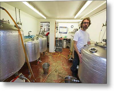 Micro Brewery Metal Print by Ashley Cooper