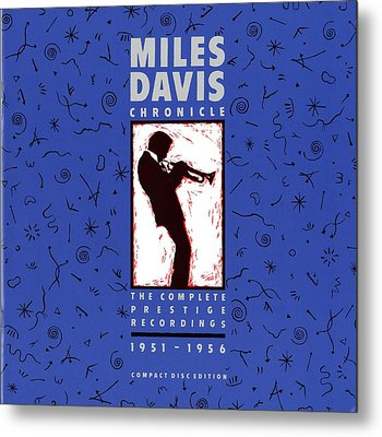 Miles Davis All Stars -  Chronicle Metal Print by Concord Music Group