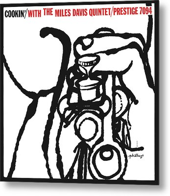 Miles Davis Quintet -  Cookin' With The Miles Davis Quintet Metal Print by Concord Music Group