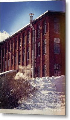Mill Metal Print by HD Connelly