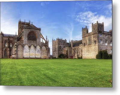 Milton Abbey Metal Print by Joana Kruse