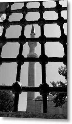 Minaret Metal Print by Ernesto Cinquepalmi