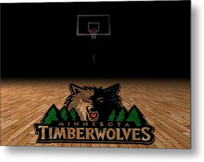 Minnesota Timberwolves Metal Print by Joe Hamilton