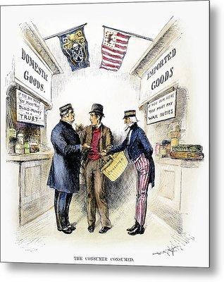Monopoly And Tariffs, 1888 Metal Print by Granger