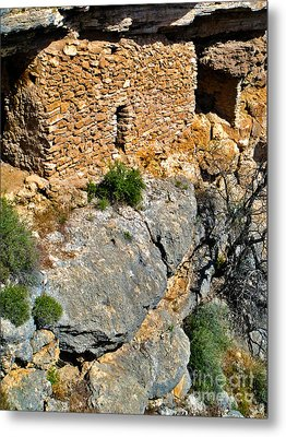 Montezumas Well Metal Print by Gregory Dyer