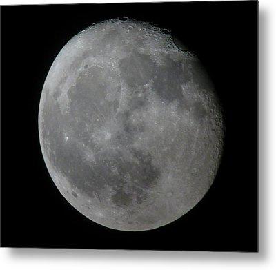 Moon Metal Print by George Leask