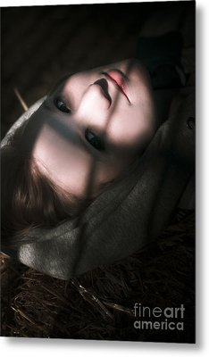 Moon Lit Face Metal Print by Jorgo Photography - Wall Art Gallery
