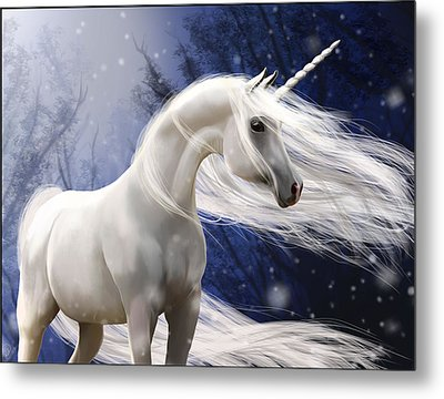 Moonbeam The Second Metal Print by Kate Black