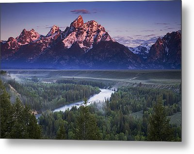 Morning Glow Metal Print by Andrew Soundarajan