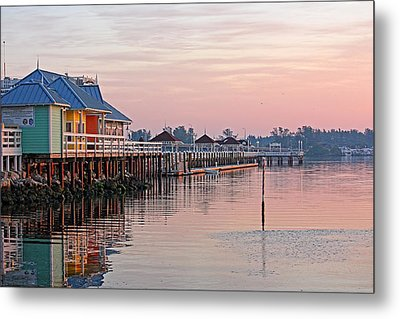 Morning Peace Metal Print by HH Photography of Florida