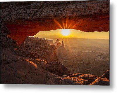 Morning Rays Metal Print by Andrew Soundarajan
