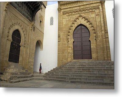 Morocco. Sal�. Great Mosque Metal Print