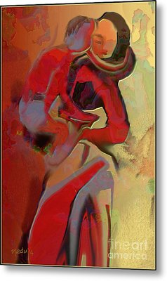 Mother And Child Metal Print by Nedunseralathan R