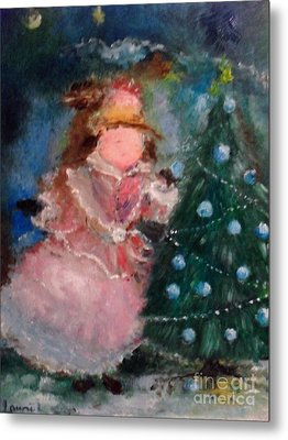 Mother Christmas Metal Print by Laurie L