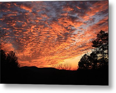 Mount Cheaha Sunset Alabama Metal Print by Mountains to the Sea Photo