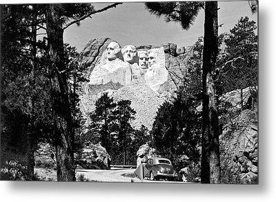 Mount Rushmore In South Dakota Metal Print