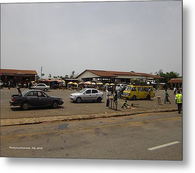 Moyamba Junction-markets Metal Print