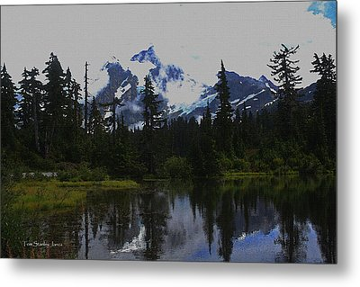 Mt Baker Washington  Metal Print