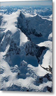 Mt Marcus Baker Metal Print by Roger Clifford