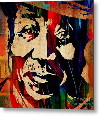 Muddy Waters Collection Metal Print by Marvin Blaine