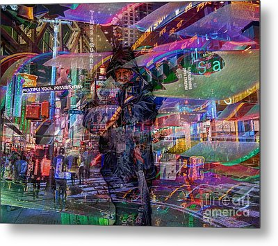 Multiply Your Possibilities Metal Print