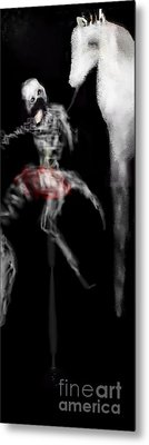 My Prehistoric Dead Horse Metal Print by Rc Rcd