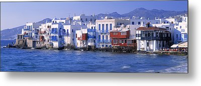 Mykonos, Cyclades, Greece Metal Print