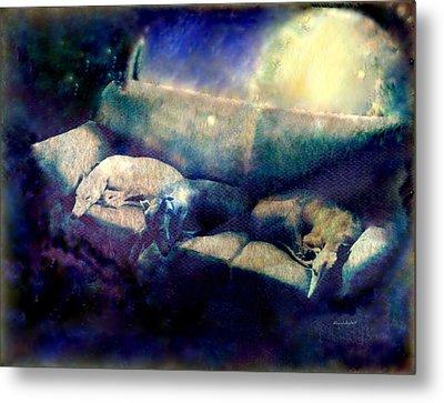 Nap Time Dreams Metal Print