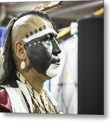 Native Canadian Metal Print