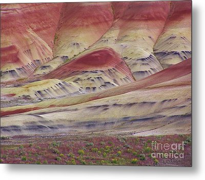 John Day Fossil Beds Painted Hills Metal Print