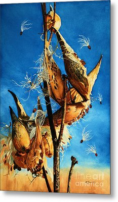 Nature's Launch Pad Metal Print by Barbara Jewell