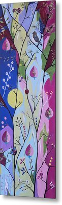 Metal Print featuring the painting Nature's Bounty by Kathleen Sartoris