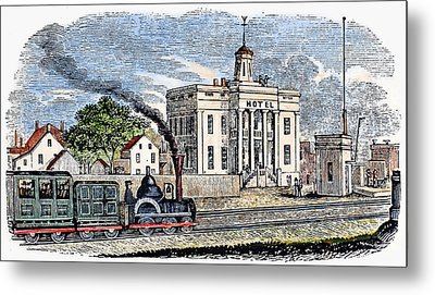 New Jersey Rahway, 1844 Metal Print by Granger