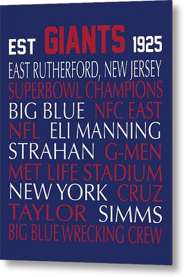 New York Giants Metal Print