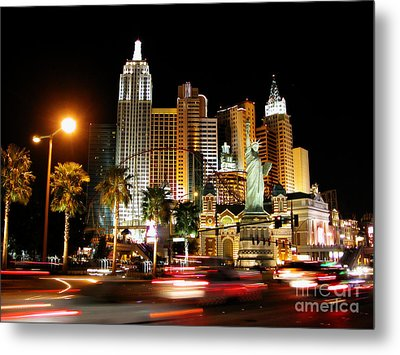 Metal Print featuring the photograph New York Minute by Stuart Turnbull