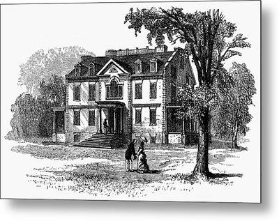 Newark Schuyler Mansion Metal Print by Granger