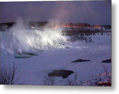 Niagara Falls In Winter Metal Print by Jim West