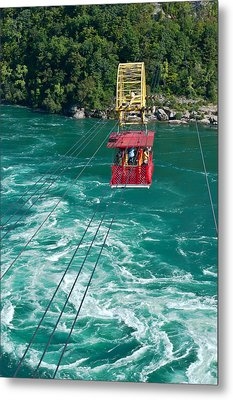 Niagara River Cable Car Metal Print by Marek Poplawski