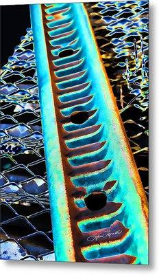 Night Glow Metal Print by Sylvia Thornton