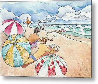 Noosa Ninnies Metal Print