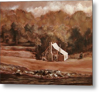 North Carolina Remembered Metal Print by Diane Kraudelt