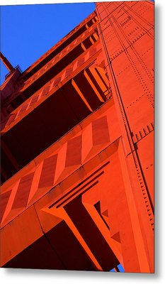 North Tower Golden Gate Bridge Metal Print
